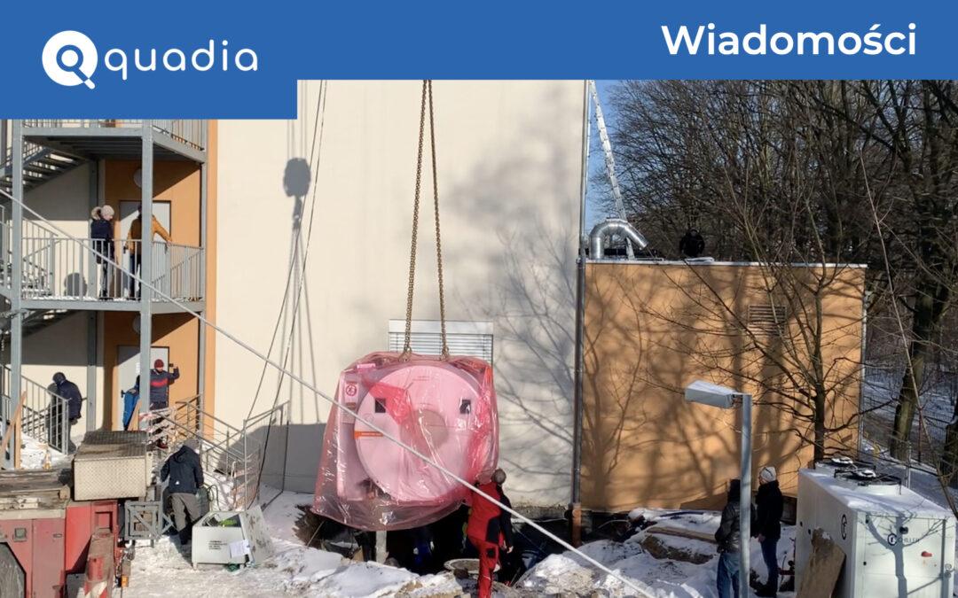 Instalacja aparatu MR Siemens Magnetom Sola 1.5T w Quadia Piaseczno